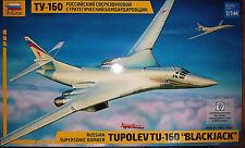 """Tupolev TU-160 """"Blackjack"""" Russian Supersonic Bomber - Zvezda Kit 1:144 7002"""