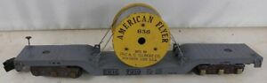 Vintage 1950's American Flyer 636 Erie 7210 Cable Reel Car