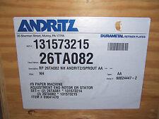NEW ANDRITZ DURAMETAL REFINER PLATES BOX OF 6 PART # 26TA082
