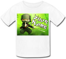 NINJA  PERSONALISED SUBLIMATION KIDS T-SHIRT - GREAT GIFT FOR ANY CHILD & NAMED