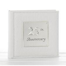 Deluxe Anniversary Photo Album - 25th Silver Wedding Gift Idea  NEW