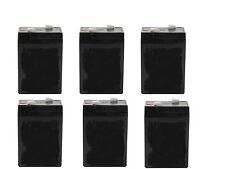 6V 4.5Ah Emergency Exit Lighting SLA Battery - PACK OF 6 BATTERIES
