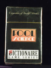 Fictionaire FOOL Science (2010 Days Of Wonder) NEW