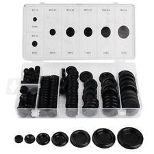 170X Rubber Grommet Firewall Hole Plug Set Electrical Wire Gasket Assortment Kit