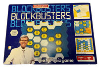 Vintage 1982 Blockbusters The ITV Quiz Board Game Complete