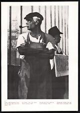 "1947 PROROKOV ""On Strike"" Cold War Anti Worker Propaganda Poster 13x9 Print USSR"