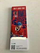unused season hockey tickets  Montreal Canadiens jan13