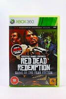 Red Dead Redemption Xbox 360 Game of the Year Edition Complete W/ Map & Manual
