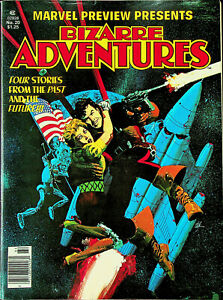Marvel Preview #20 - Bizarre Adventures (Win 1980, Marvel) - Near Mint