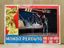 MONDO PERDUTO fotobusta poster Michael Rennie The Lost World Sci-fi Doyle BN48