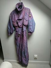 all in one ski suit retro 80s/90s size 10
