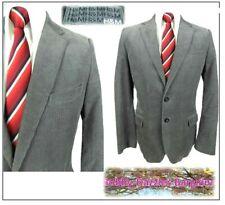 "H&M Mens Cotton Corduroy Sports Jacket Blazer Ch42""R Grey"