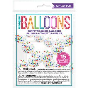 DIY Confetti Balloon Arch Garland Kit Birthday Wedding Baby Shower Hen Party