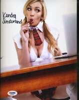 KENDRA SUTHERLAND PSA DNA Autographed 8X10 Photo AVN Hand Signed