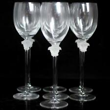 "(7) Rosenthal Versace Crystal ""Medusa Lumiere"" Red Wine Glasses Lot 16"