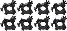(8) American DJ O-Clamp/1.5 360 Degree Wrap Around Truss Clamps