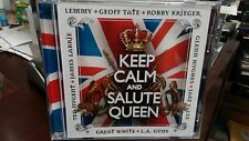 KEEP CALM and SALUTE QUEEN - CD with Lemmy Krieger Nugent Jake E. Lee L.A.Guns