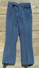 Men's  Vintage Edelweiss  Ski Snow Winter Sports Pants Size 29 Navy Pinstripe