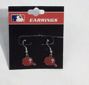Philadelphia Phillies MLB Baseball Hat Cap Dangle Earrings