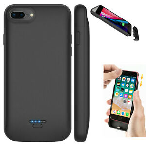 For iPhone Power Bank Portable Charger Cover Battery Case 12000mAh 5 6 7 8 plus