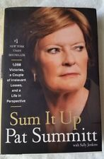 Sum It Up 1st Ed Autographed By Pat Summitt (2013)