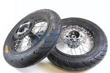 "12"" Complete Motard Wheel Set w/rotor sprocket SDG 107cc 110cc 125cc V WMS03"