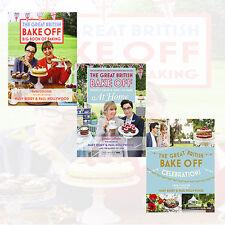 Great British Bake Off:Celebrations,Big Book of Baking 3 Books Collection SetNEW
