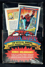 1990 Marvel Universe Series 1 Factory Sealed Super Heroes Trading Card Wax Box