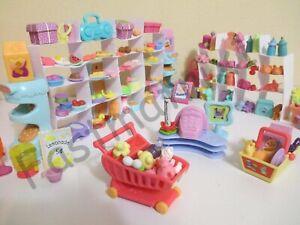 Littlest Pet Shop Lot 12 Random Grocery Shopping Food Accessories BUY3 GET 1FREE