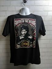 Manny Pacquiao fighter of the decade black t shirt unisex sz medium cotton