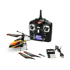 V911 Mini Gyro RC Helicopter Orange Beginner Remote Control Helicopter MSRP $60