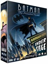Gotham City Under Siege Batman The Animated Series Family Board Game IDW 01537