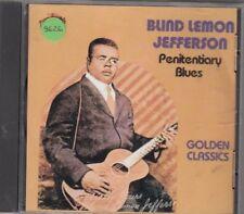 BLIND LEMON JEFFERSON - penitentiary blues CD