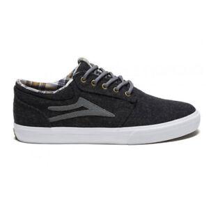 Lakai Griffin Phantom Textile Grey Shoes Skateboard/Trainers