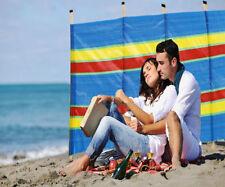 8 mât coupe-vent vent BREAK coupe-vent écran pare soleil plage Abri camping