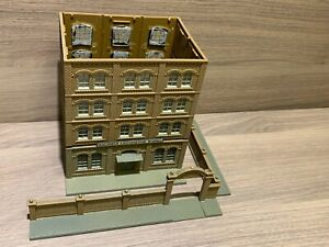 N Scale Pola Baldwin Locomotive Works Building - W/ Fence- No Roof, For Repair