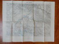GORZ GORIZIA GRADISCA Grado vecchia cartina
