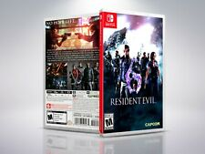 Resident Evil 6 - Switch - Replacement - Cover/Case - NO Game
