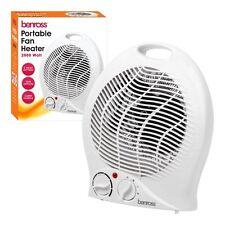 Benross Portable Fan Heater, 2000 Watt, Instant cooling, 1Kw / 2Kw Setting 42540