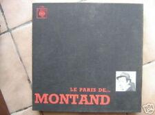 YVES MONTAND 33 TOURS FRANCE LE PARIS DE MONTAND FERRE