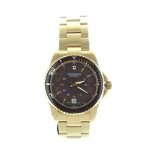 Victorinox Swiss Army Maverick Brown Gold Stainless Steel Watch for Women 241614