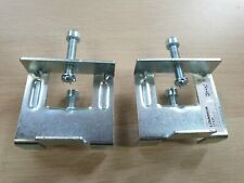 2 Ikea Linnmon Desk/Table Connectors Grips Grippers Fittings for Use with Kallax