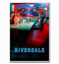 "Riverdale Full Cast 12""x8"" TV Shows Silk Poster Art Print Hot Cool Gift"