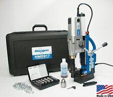 Hougen HMD917 115-Volt Swivel Base Magnetic Drill Fabricators Kit