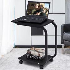 Sofatisch Beistelltisch Betttisch Pflegetisch Couchtisch Laptoptisch mit Rollen