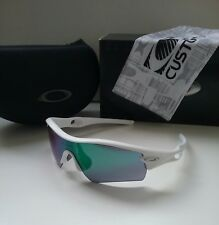 New OAKLEY RADAR PATH Matte White / Jade Iridium RARE Sunglasses ev pitch flak 2