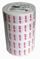 Monarch 1136 Date Ticketing Use By Labels 10,000(5 rolls) White. 70696