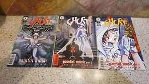 3 DC Comics Darkhorse Comics Ghost 1997 Painful Music  28, 29 and 30
