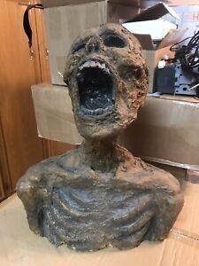 Halloween Mummy Movie Prop Skeleton Bust