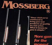Mossberg Gun Catalog 1986 Booklet Pamphlet R